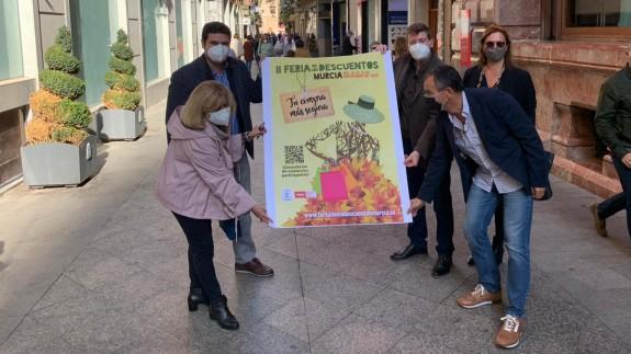 Presentación de la Feria de los Descuentos. AYTO. MURCIA