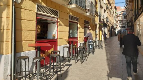terraza de un negocio hostelero