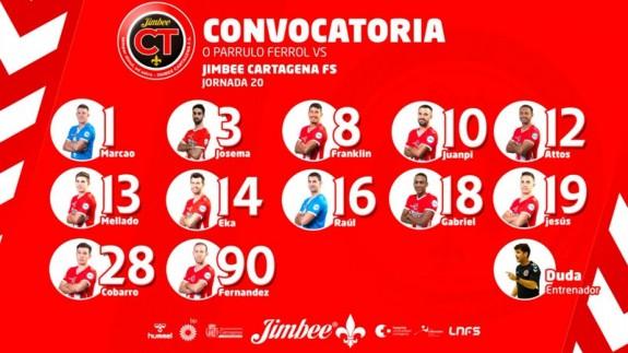 Convocatoria Jimbee Cartagena