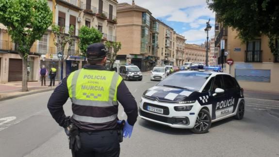 Control policial de movilidad durante el primer estado de alarma
