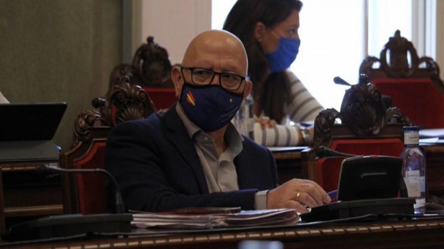 Manuel Padín, teniente de alcalde y concejal de Ciudadanos de Cartagena. FOTO: CIUDADANOS