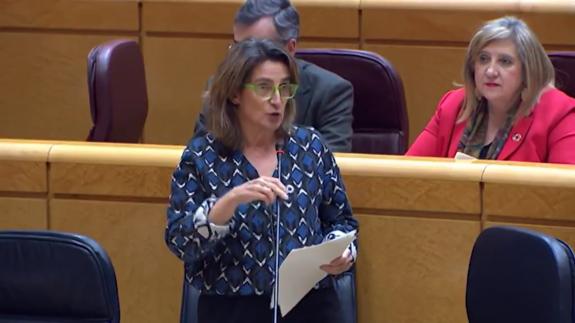 Teresa Ribera en el Senado