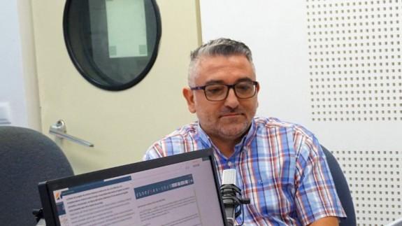 """Emilio Aparisi realiza una columna de opinión en """" La Contraportada"""""""