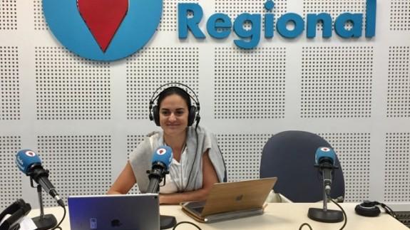 Raquel Moreno, responsable de comunicación de la Facultad de Turismo