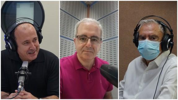 Javier Adán, Manolo Segura y Enrique Nieto