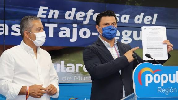 Luengo y Cano en rueda de prensa