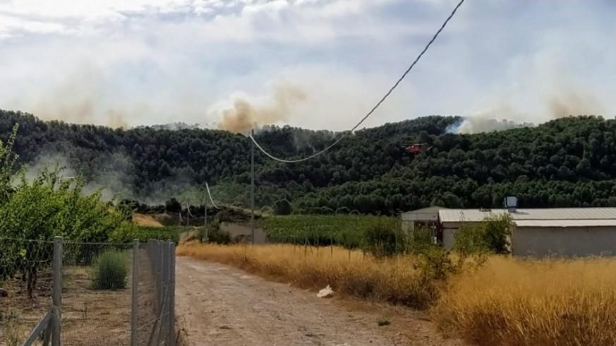 Incendio este domingo en la sierra de la Silla