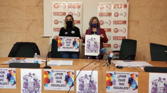 Eugenia Pérez y Anna Mellado, este lunes