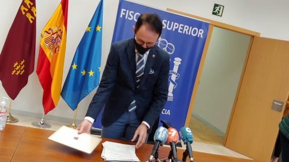El fiscal superior de la Región de Murcia, José Luis Díaz Manzanera