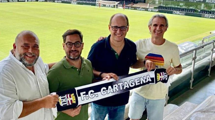 Joaquín Martínez, con Paco Belmonte, Sánchez Breis y Sívori