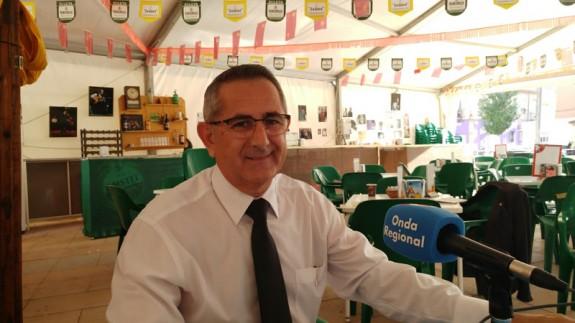 Pedro López, alcalde de La Unión