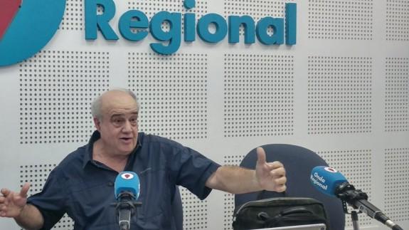 Miguel Ángel García Gallego en Onda Regional