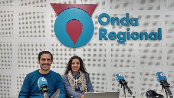 José Bote y María Alarcón en Onda Regional