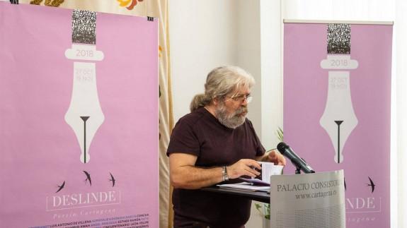"""José Antonio Martínez, periodista de Onda Regional, y miembro de la organización de """"Deslinde 2018"""""""