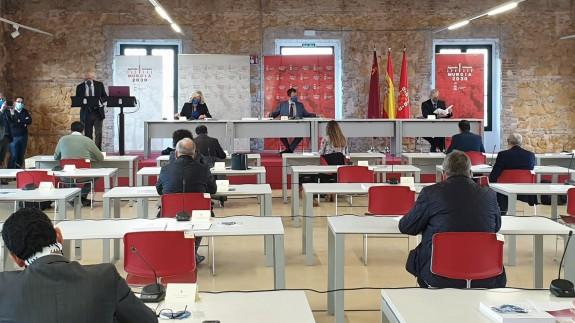 Reunión del Consejo Social de Murcia. ORM