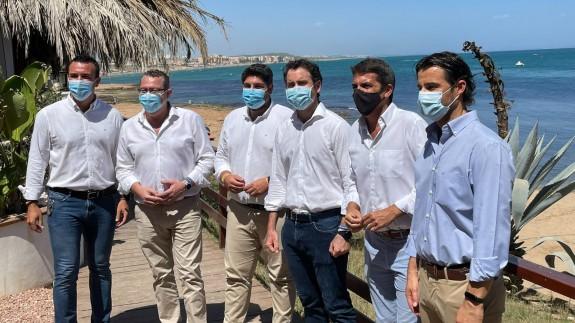 El PP registra una proposición no de ley para poner fin a la situación actual del Mar Menor