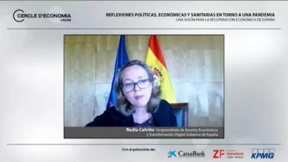 Calviño afirma que sería 'absurdo y contraproducente' derogar la reforma laboral en este momento