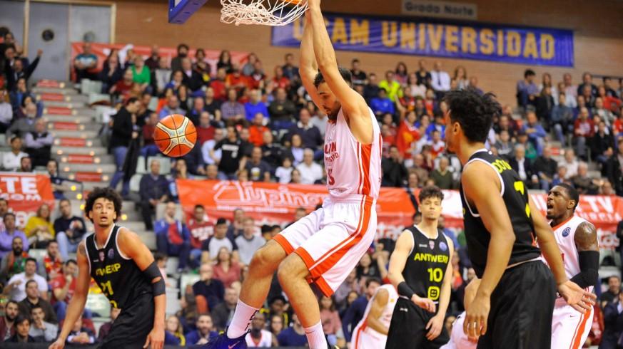 El UCAM, eliminado de la Liga de Campeones de Baloncesto