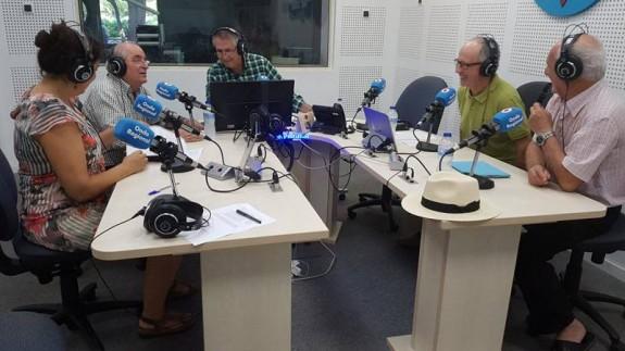 Juan Cano Conesa, Alfonso Rodríguez y Miguel Ángel Díaz