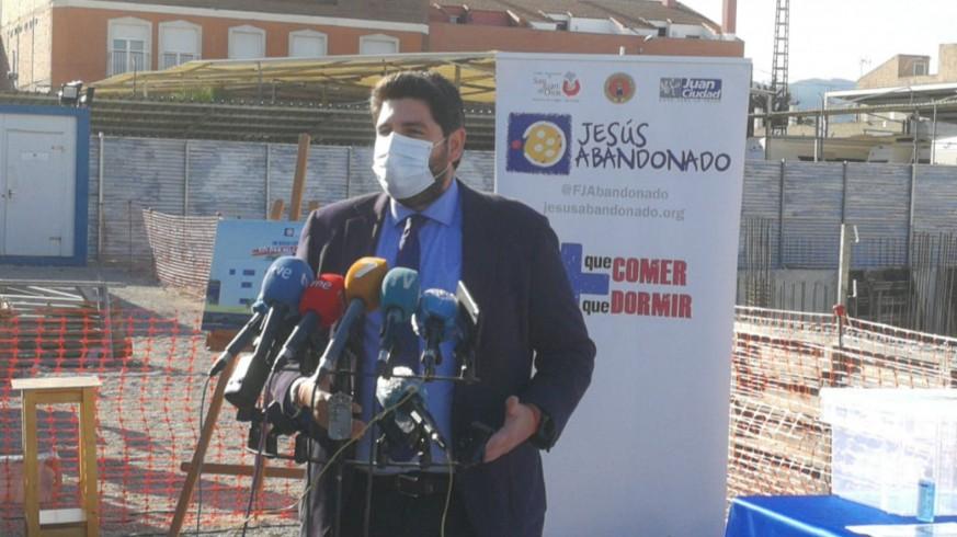 Fernando López Miras en un acto en Murcia este martes