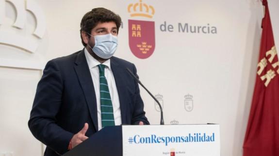 Fernando López Miras (archivo). CARM