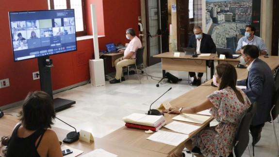Mesa de Transporte del Ayuntamiento de Murcia. AM