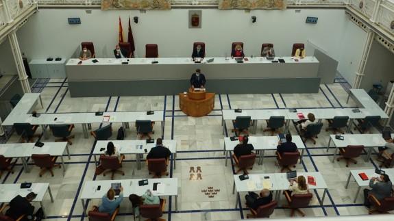 Comparecencia de Antonio Luengo en la Asamblea Regional