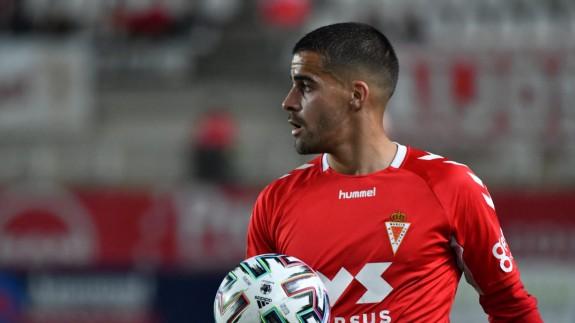 Iván Pérez, jugador del Real Murcia