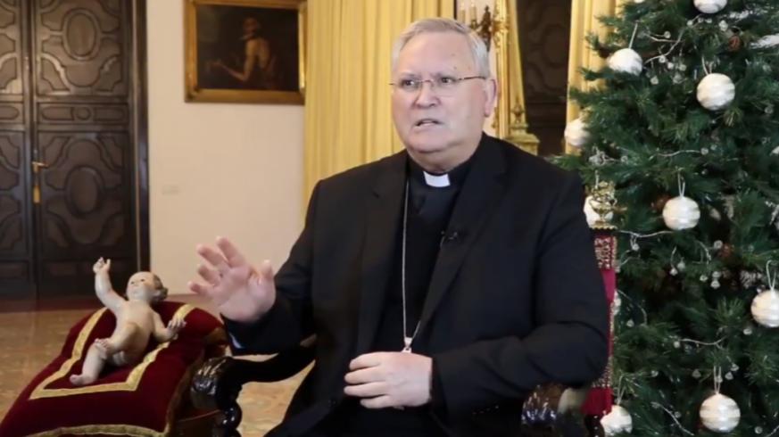 El obispo José Manuel Lorca Planes