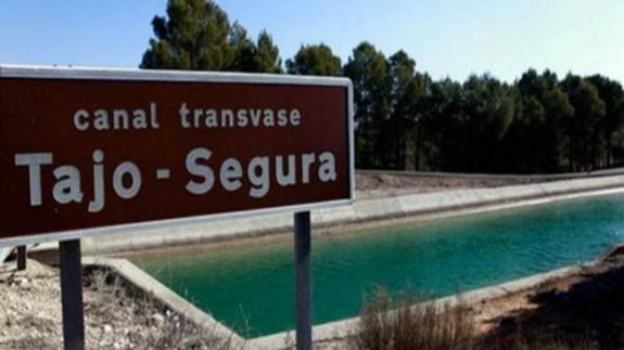 Trasvase Tajo-Segura (Archivo). MINISTERIO