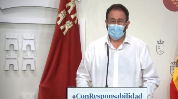 EN DIRECTO | Rueda de prensa sobre la evolución del coronavirus en la Región