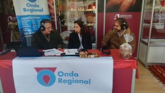 Ángel Nicolás con Marta Ferrero y Miguel Massotti en Alfonso X el Sabio