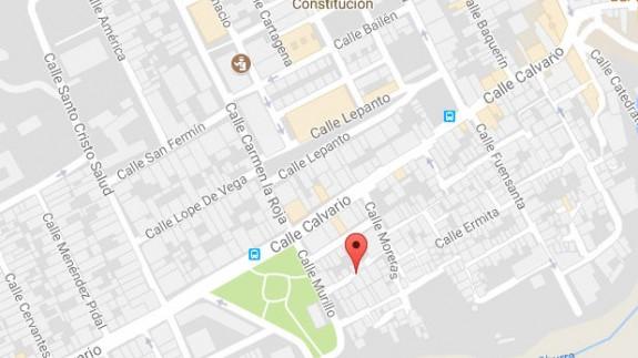 Mapa Calle Granada de Espinardo