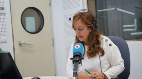 Susana Azparren, una voz imprescindible en los informativos de Onda Regional