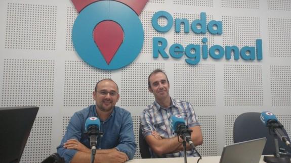 Jaime Fraile y Eduardo Lafuente en Onda Regional