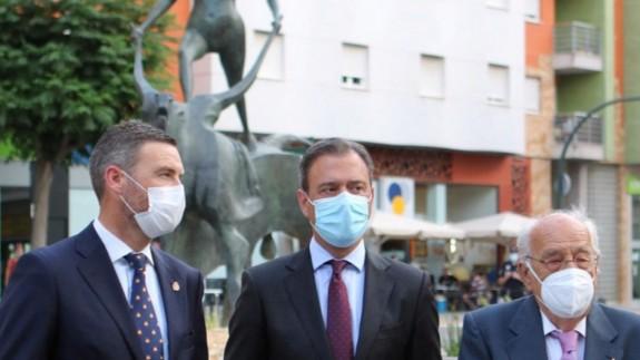 José Francisco García, Marcos Ortuño y José Carrilero. CARM
