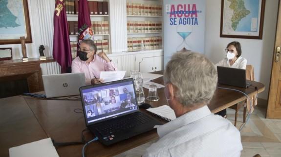 Comité ejecutivo Mancomunidad Canales del Taibilla. FOTO: MCT