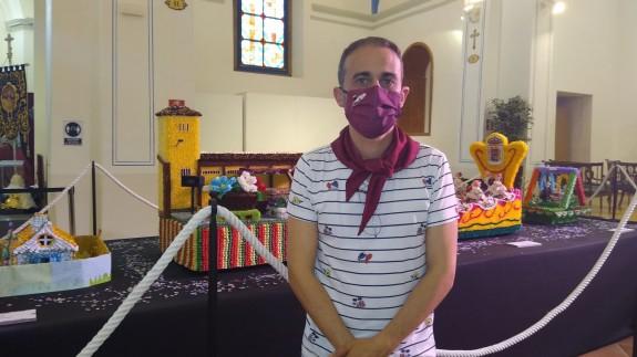 El presidente de la Federación de Peñas de las Fiestas de San Isidro en Yecla, Antonio Ortuño