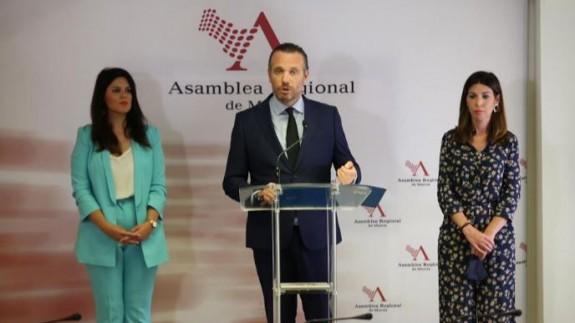 Segado (PP): 'El Gobierno ha hecho frente a retos muy complicados para la Región y ha planificado su reactivación económica'