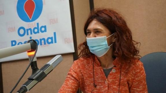 Teresa Vicente en una imagen de archivo de Onda Regional