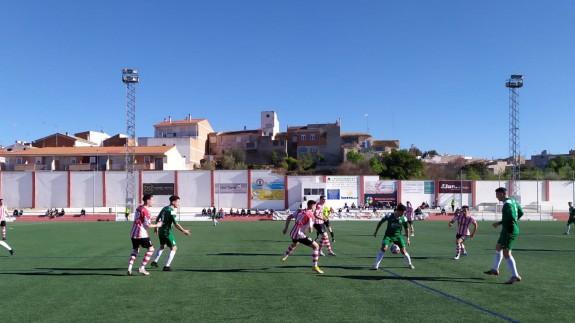 Un penalti en el 90 le da los tres puntos al Bullense frente al Churra (2-1)