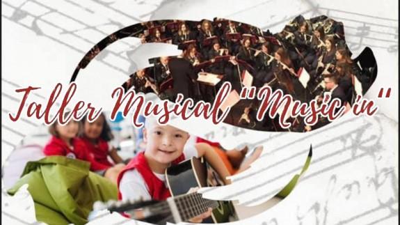 TARDE ABIERTA. Taller musical de inclusión social en Jumilla para niños de la asociación Aspajunide