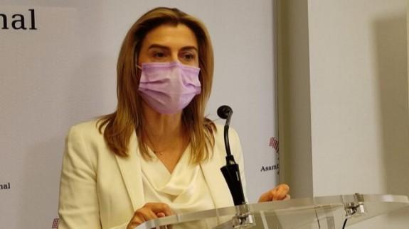 Carmina Fernández en una foto de Archivo