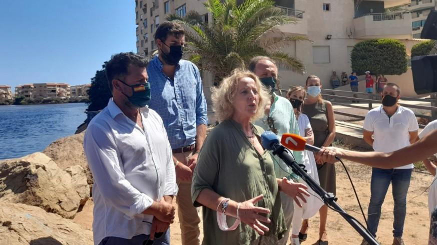 Vox pide la comparecencia de Ribera en el Congreso para hablar del Mar Menor. ORM