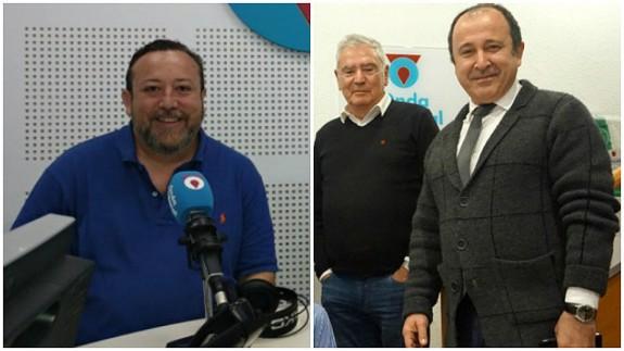 Juan Antonio de Heras, Enrique Nieto y Javier Adán