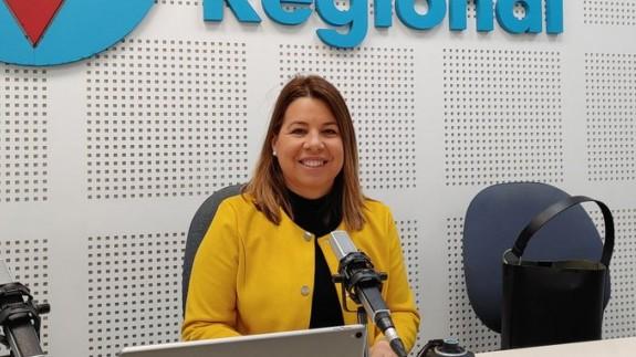 Alicia Rubio, vicerrectora de la Universidad de Murcia