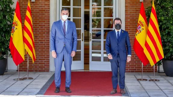 El Gobierno ofrece más autogobierno y niega que Sánchez y Aragonés hayan hablado de amnistía y autodeterminación