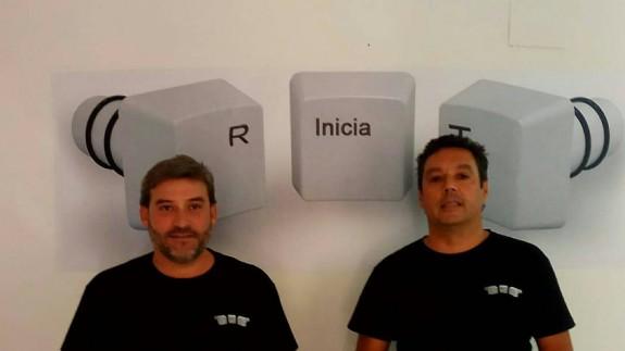 Felipe Martín y Gustavo Tapioles, creadores de 'R-inicia-T'