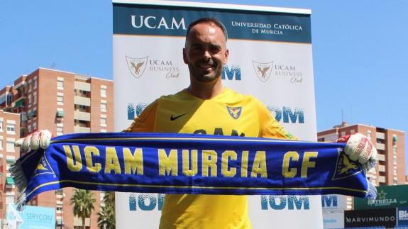 Iricibar durante su presentación. Foto: UCAM Murcia