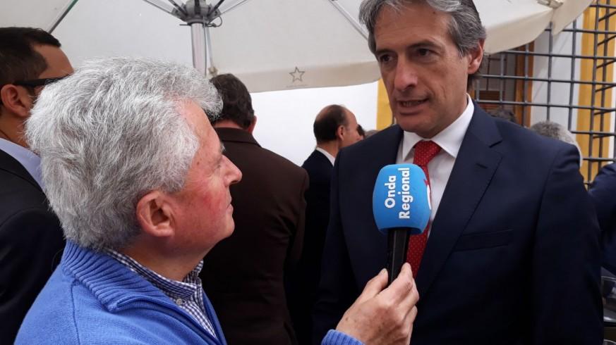 Iñigo de la Serna, entrevistado por nuestro compañero Paco Gómez en Lorca